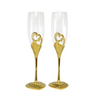 Wedding Toasting Flutes/Champagne Glasses