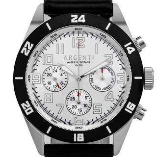 Argenti Damar Men's master calendar multi-function watch, strong luminescence, genuine leather|https://ak1.ostkcdn.com/images/products/12204929/P19051991.jpg?impolicy=medium