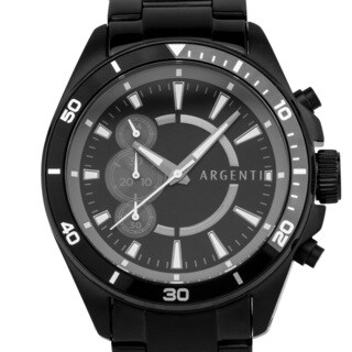 Argenti Somerset Men's Racing Chronograph, Unique Dial Layout, Miyota JS55 Movement