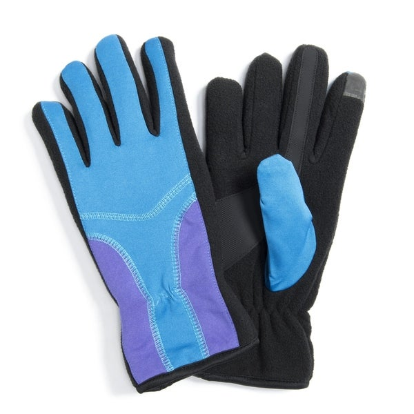 1d4a97e5a Shop Muk Luks Women's Polyester/ Spandex Stretch Gloves - Free Shipping On Orders  Over $45 - Overstock.com - 12204948