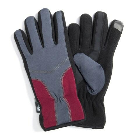Muk Luks Women's Polyester/ Spandex Stretch Gloves