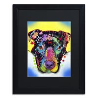 Dean Russo 'Otter Pitbull' Matted Framed Art
