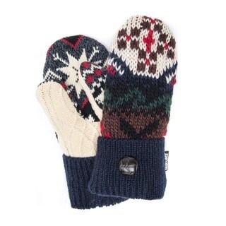 Muk Luks Women's Acrylic/ Polyester Winter Lodge Potholder Mittens