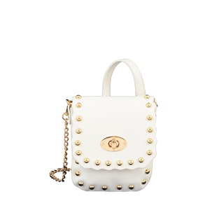 Mellow World Pandora White Crossbody Handbag