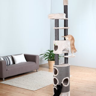 Trixie Esma Adjustable Three-story Cat Tree With Scratcher
