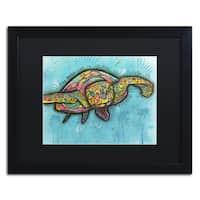 Dean Russo 'Turtle' Matted Framed Art