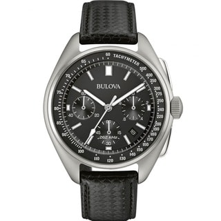 Bulova Men's 96B251 Moon Edition Tool Watch Stainless Steel with 2 Straps included