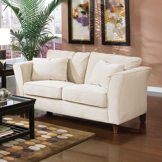 Coaster Company Park Place Contemporary Cream Sofa with Tapered Arms