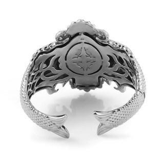 Stephen Webster Jewels Verne Sterling Silver & Quartz Cuff Bracelet