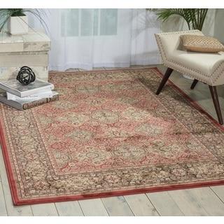 Nourison Ararat Rust Rug (5'3 x 7'4)