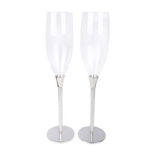 Sparkle Toasting Flutes/Champagne Glasses