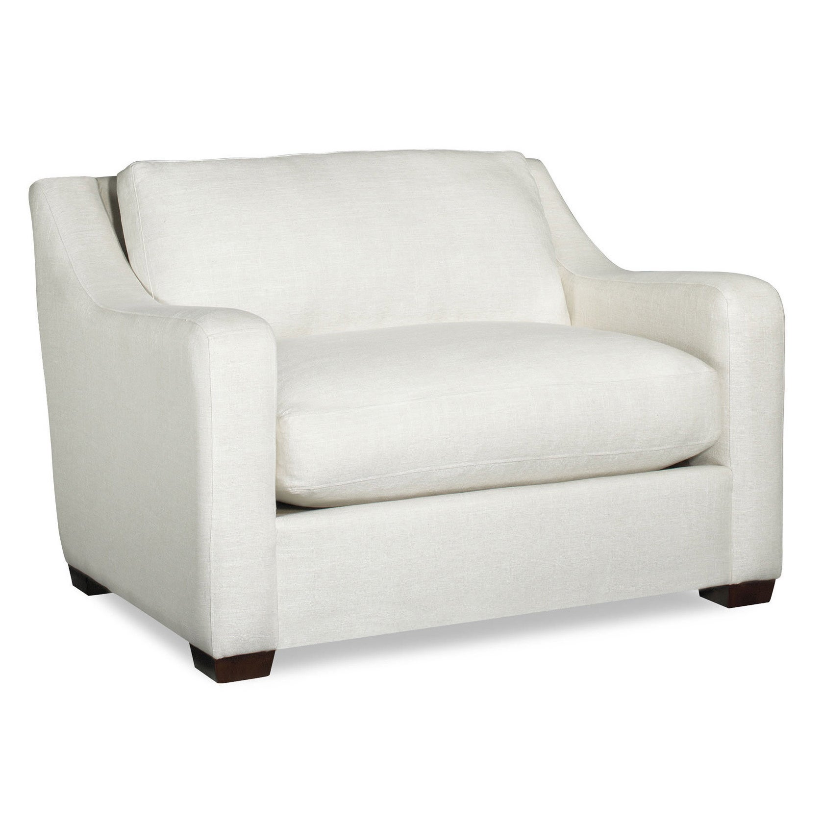 Picture of: Shop Black Friday Deals On Carter Cream Extra Large Arm Chair Overstock 12205368