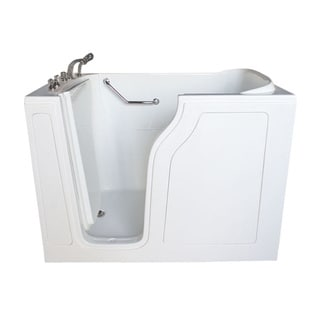 Value Life 55-inch x 35-nch Whirlpool Jetted Left Walk-In Tub