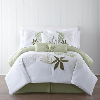 Panama Jack Lagoon Embroidered 7-piece Comforter Set