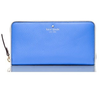 Kate Spade Cobble Hill Lacey Wallet - Alice Blue/Cement