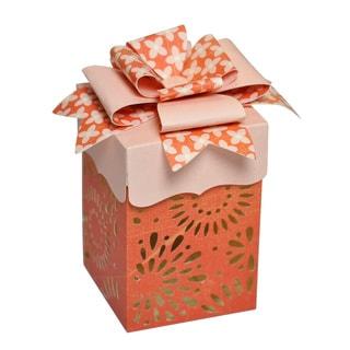 Sizzix Thinlits Plus Orange Die Set Box With Fancy Lid (Case of 13)