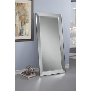 Sandberg Furniture Mirror on Mirror Full Length Leaner Mirror