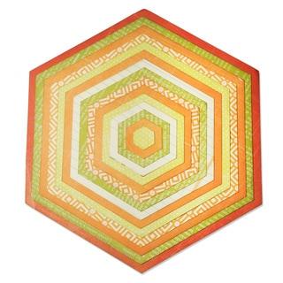 Sizzix Framelits Plus Hexagons Die Set (Pack of 15)