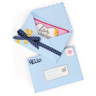 Sizzix Framelits Plus Die Set 20PK - Envelope, Mini by Stephanie Barnard