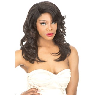 Magic Lace Curved Part 179 Synthetic Full Wig