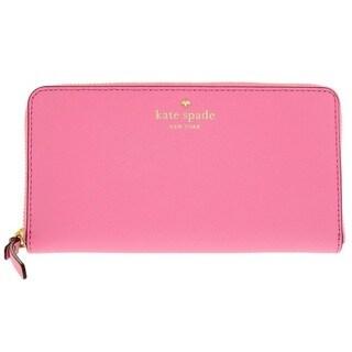Kate Spade Cedar Street Lacey Rouge Pink Wallet