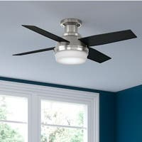 Hunter Fan Dempsey Collection 44-inch Low-profile Reversible Blades Ceiling Fan