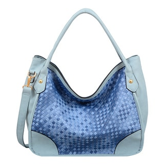 Kiki Lattice Hobo Handbag