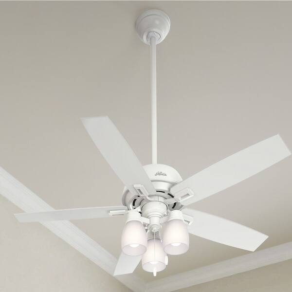Donegan Collection 52 Inch Fresh White