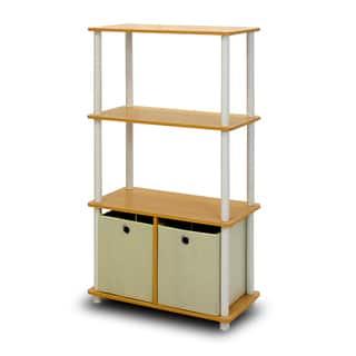 Furinno Go Green 4-tier Multipurpose Storage Rack|https://ak1.ostkcdn.com/images/products/12205603/P19052635.jpg?impolicy=medium