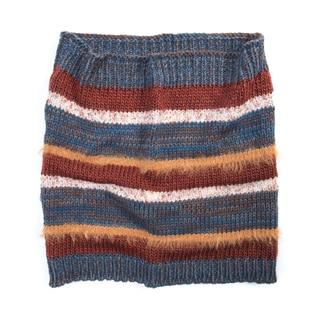 Muk Luks Women's Acrylic/ Nylon Stripe Funnel