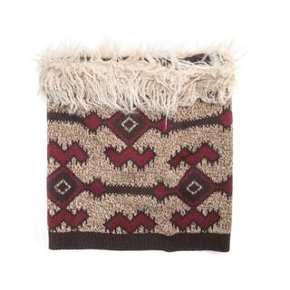 Muk Luks Women's Acrylic/ Polyester Faux Fur Tribal Funnel