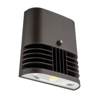 Lithonia Lighting OLWX1 LED 20W 40K 120 PE M4 LED Dark Bronze Wall Pack
