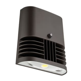 Lithonia Lighting OLWX1 LED 13W 50K 120 PE M4 LED Dark Bronze Wall Pack