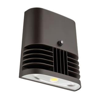 Lithonia Lighting OLWX1 LED 13W 40K 120 PE M4 LED Dark Bronze Wall Pack