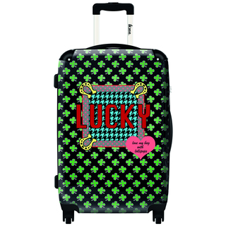 iKase 'Lollipops Are You Lucky'  Hardside Carry-on 20-inch  Spinner Upright Suitcase