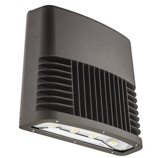 Lithonia Lighting OLWX2 LED 90W 50K 347 DDB M2 90W Outdoor Bronze LED Low Profile Wall Pack