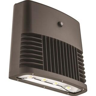 Lithonia Lighting OLWX2 LED 90W 50K 120 PE DDB M2 LED Black Bronze Wall Pack