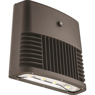 Lithonia Lighting OLWX2 LED 90W 50K 120 PE DDB M2 LED Black Bronze Wall Pack