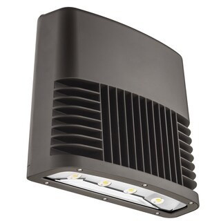 Lithonia Lighting OLWX2 LED 150W 50K 347 DDB M2 150W Outdoor Bronze LED Low Profile Wall Pack