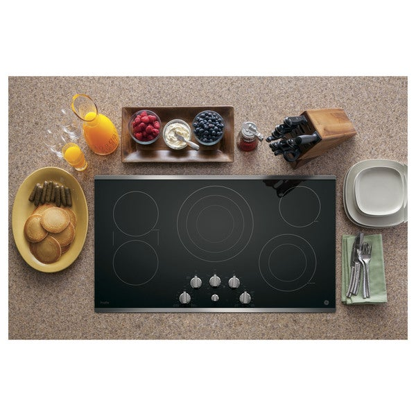 36 Inch Cooktops ~ Ge profile inch electric cooktop free shipping today