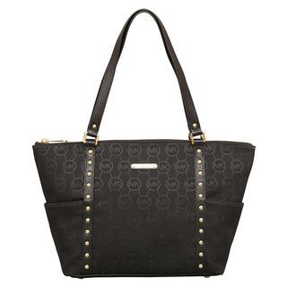 Michael Kors Jet Set Stud EW Top Zip Tote
