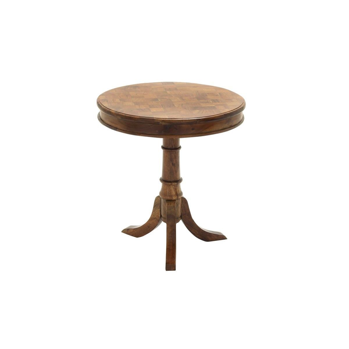 Studio 350 Wood Accent Table (24 inches wide x 26 inches ...