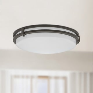 Lithonia Lighting FMSATL 13 14840 BZA M4 Antique Bronze LED Saturn Flushmount