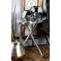 Aluminum Accent Table (22 inches wide x 23 inches high)