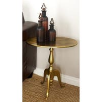 Aluminum Accent Table (19 inches wide x 21 inches high)