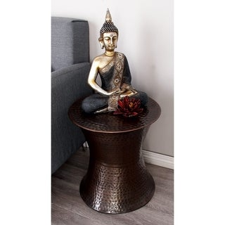 Metal Accent Table (18 inches high x 16 inches wide)