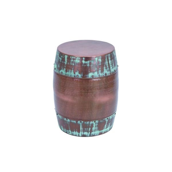 Metal Accent Table 20 Inches High X 14 Inches Wide