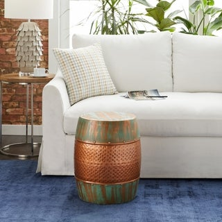 Metal Accent Table (20 inches high x 14 inches wide)