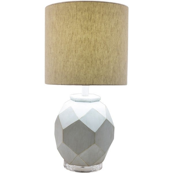 Burbank Table Lamp with Painted Resin Base