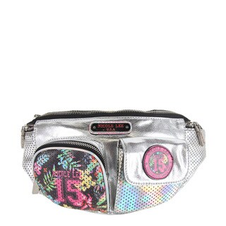 Nicole Lee Silver 15 Print Fanny Pack